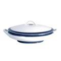 Royal Limoges Recamier - Blue Star Covered vegetable