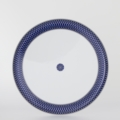 Royal Limoges Recamier - Blue Star Deep round platter