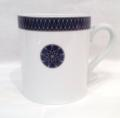 Royal Limoges Recamier - Blue Star Mug 10oz