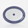 Royal Limoges Recamier - Blue Star Open vegetable