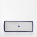 Royal Limoges Recamier - Blue Star Rectangular cake platter
