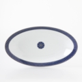 Royal Limoges Recamier - Blue Star Relish dish