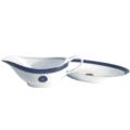Royal Limoges Recamier - Blue Star Sauce boat