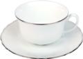 Deshoulieres Colbert platinum filet Tea Cup