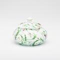 Royal Limoges Nymphea - Colibri Sugar bowl