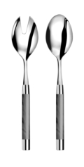 Capdeco Conty grey Salad serving set