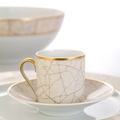 Royal Limoges Recamier - Pompeï Coffee saucer