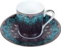 Deshoulieres Dhara Peacock Coffee Cup