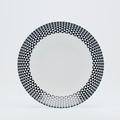 Royal Limoges Recamier - Diamonds Black Soup/cereal bowl