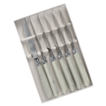 Capdeco Diana Marble Set of 6 Steak Knives