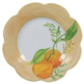 Royal Limoges Nymphea - Fruits d'Eté Dessert plate