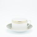 Royal Limoges Recamier - Galaxie Breakfast cup