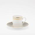 Royal Limoges Recamier - Galaxie Coffee saucer