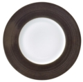 Deshoulieres Galileum graphite Dessert Plate Large Rim