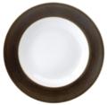 Deshoulieres Galileum graphite Rim Soup Plate