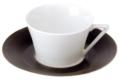 Deshoulieres Galileum graphite Tea Saucer