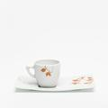 Royal Limoges Pagode/Saveur - Herbier Zen Coffee saucer