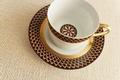 Royal Limoges Recamier - San Marco Tea Saucer