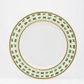 Royal Limoges Recamier - La Bocca green Dinner plate