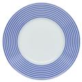 Royal Limoges Recamier - Latitudes bleu Breakfast saucer