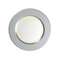 Royal Limoges Recamier - MAK grey/gold Dinner plate