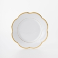 Royal Limoges Nymphea - Margaux gold Dessert Plate
