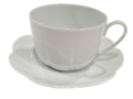 Royal Limoges Nymphea - White Breakfast saucer