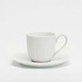 Royal Limoges Nymphea - White Coffee cup