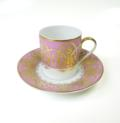 Royal Limoges Recamier - Oasis purple Coffee saucer