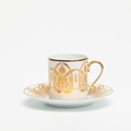 Royal Limoges Recamier - Oasis White Coffee saucer
