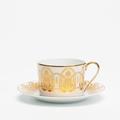 Royal Limoges Recamier - Oasis White Tea saucer
