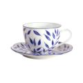 Royal Limoges Nymphea - Olivier blue Tea saucer