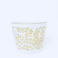 Royal Limoges Nymphea - Olivier Gold Cachepot - small