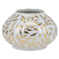 Royal Limoges Nymphea - Olivier Gold Vase round - small