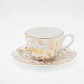 Royal Limoges Nymphea - Olivier Gold Tea saucer