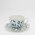 Royal Limoges Nymphea - Olivier Green Tea saucer