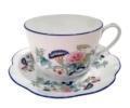 Royal Limoges Nymphea - Paradis bleu Breakfast cup