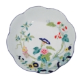 Royal Limoges Nymphea - Paradis bleu Deep round platter