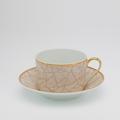 Royal Limoges Recamier - Pompeï Tea cup