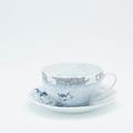 Royal Limoges Coupe - Rêve Bleu Breakfast saucer