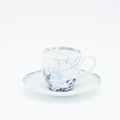 Royal Limoges Coupe - Rêve Bleu Coffee saucer