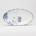 Royal Limoges Coupe - Rêve Bleu Relish dish