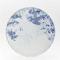 Royal Limoges Coupe - Rêve Bleu Round cake platter