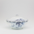 Royal Limoges Coupe - Rêve Bleu Soup tureen