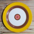 Royal Limoges Recamier - San Marco Yellow Dessert Plate