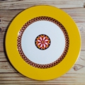 Royal Limoges Recamier - San Marco Yellow Dinner Plate