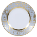 Royal Limoges Recamier - TWEED GREY&GOLD Bread & Butter Plate