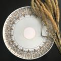 Deshoulieres Tuileries mint Round cake platter