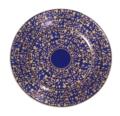 Blue b&b plate image