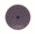Deshoulieres Vignes Blue round cake platter